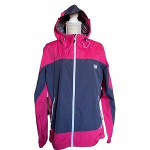 The North Face pink rain coat jacket size XL